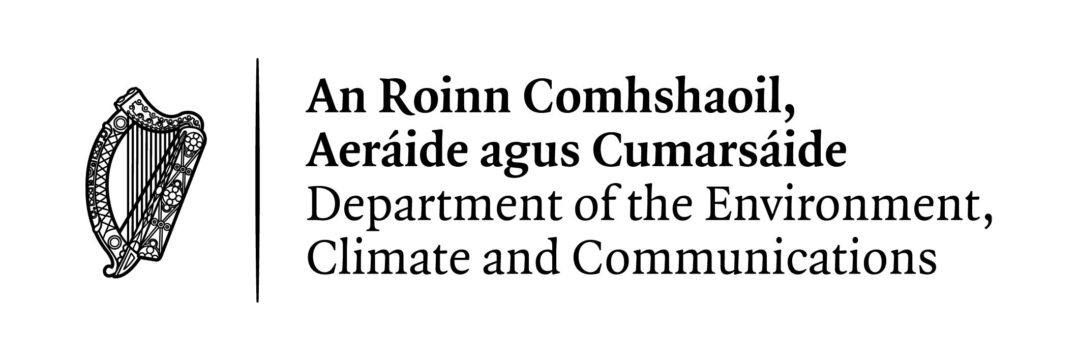 Department of the Environment, Climate and Communications logo